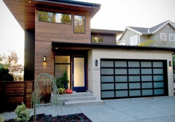 13-Frente de casas com garagem