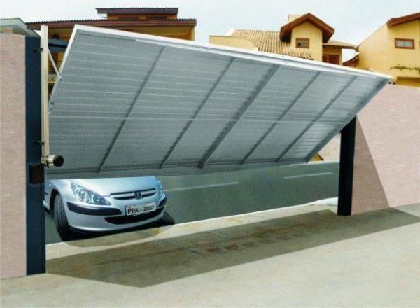 13-Modelos de portões de garagem