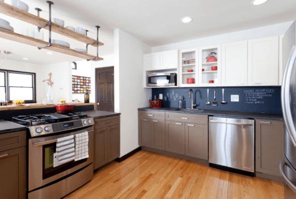 14 painéis de respingos criativos para sua cozinha 014