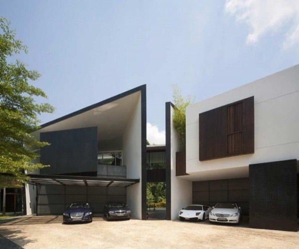 16-Frente de casas com garagem