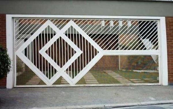 3-Modelos de portões de garagem