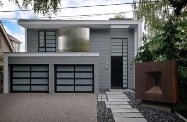 4-Frente de casas com garagem