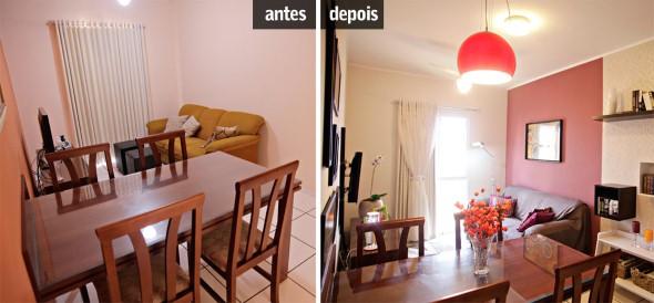 5 ambientes renovados somente com uma pintura 002
