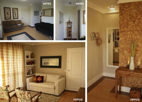 5 ambientes renovados somente com uma pintura 003