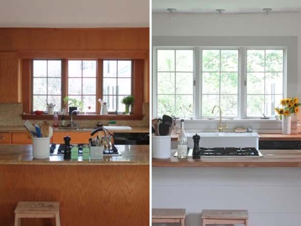 5 ambientes renovados somente com uma pintura 004