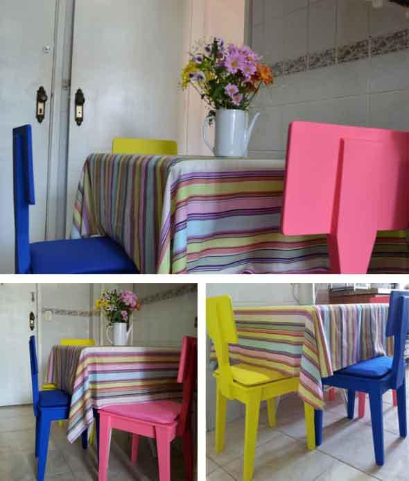 5 ambientes renovados somente com uma pintura 012