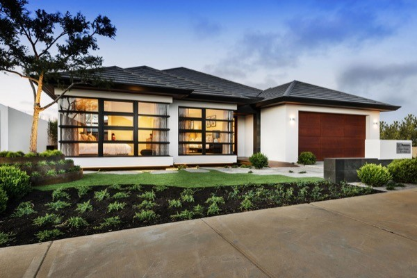 6-Frente de casas com garagem