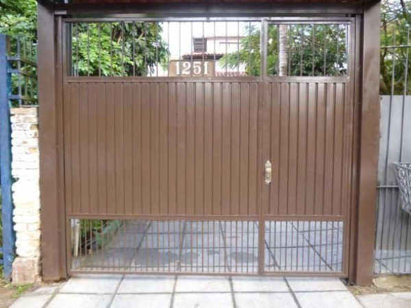 6-Modelos de portões de garagem