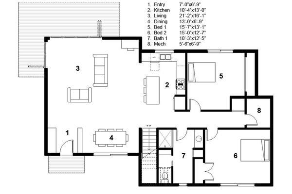 7-Casa sustentável moderna