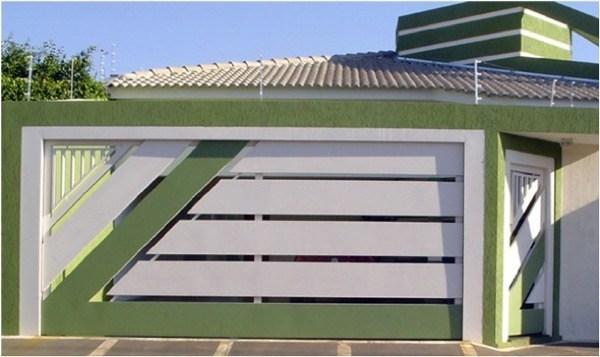 7-Modelos de portões de garagem