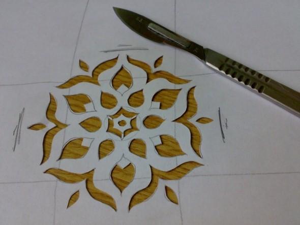 Como fazer estêncil para pintar paredes 001