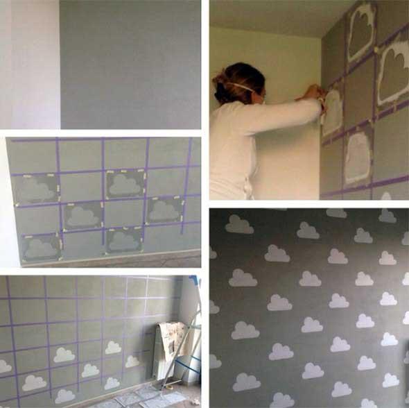 Como fazer estêncil para pintar paredes 004