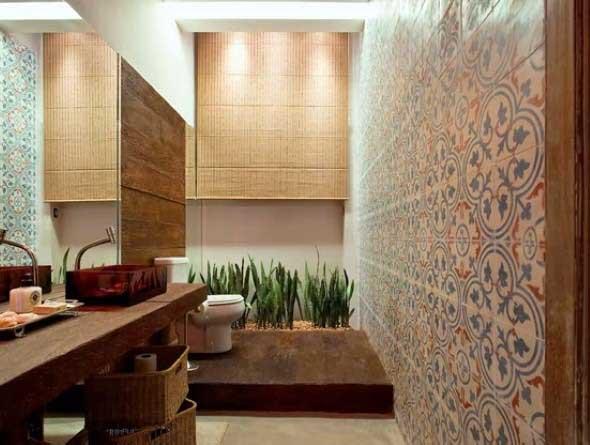 Criar banheiro estilo japonês 012