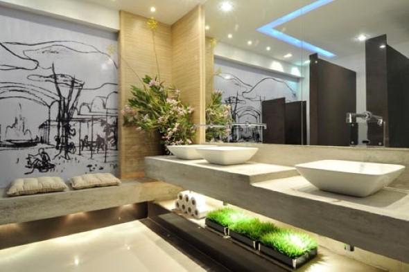 Criar banheiro estilo japonês 013