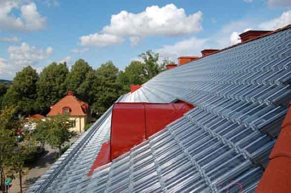 Telhas de vidro – Eficiência energética residencial 001