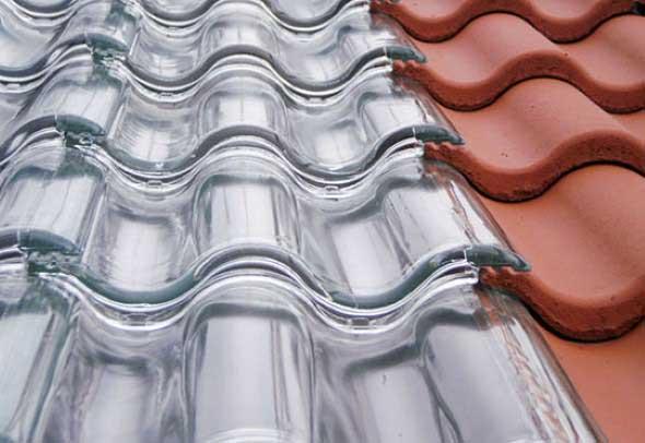 Telhas de vidro – Eficiência energética residencial 003