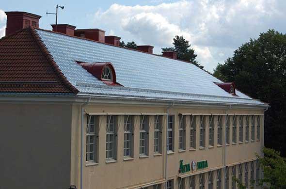 Telhas de vidro – Eficiência energética residencial 005