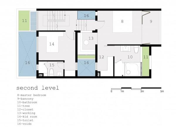 BQ-17 Residence, casa minimalista15
