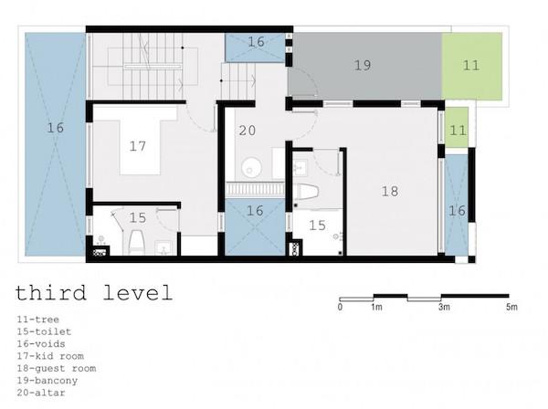 BQ-17 Residence, casa minimalista16