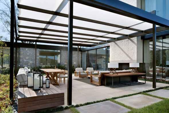 Casa de campo moderna no Tennessee 011