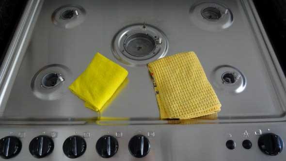 Como limpar fogão com bicarbonato 003