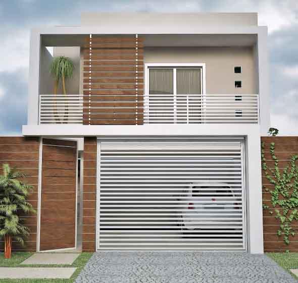 Ideias para renovar a fachada da casa rapidamente 009
