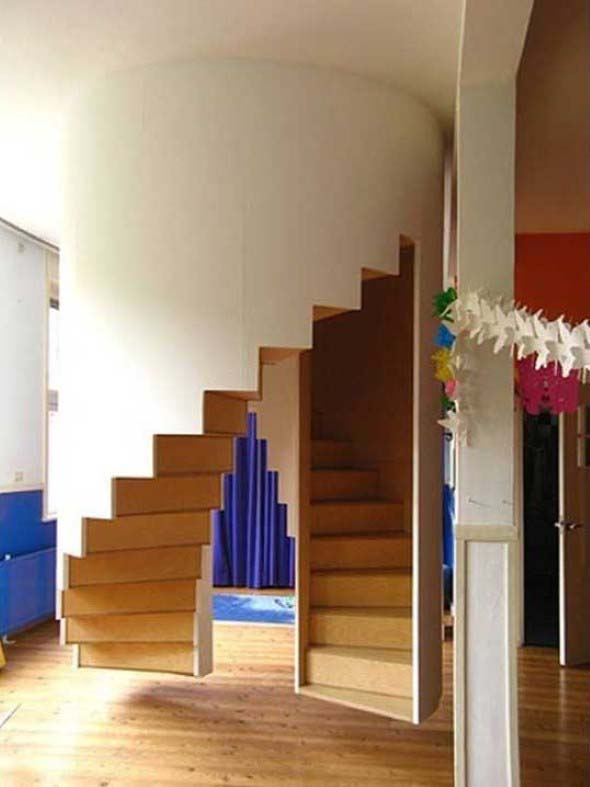 Modelos de escadas diferentes 004