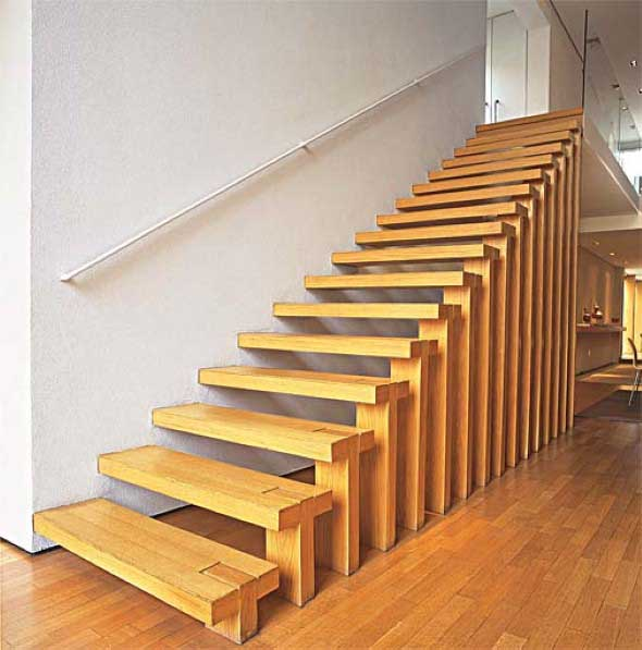 Modelos de escadas diferentes 007