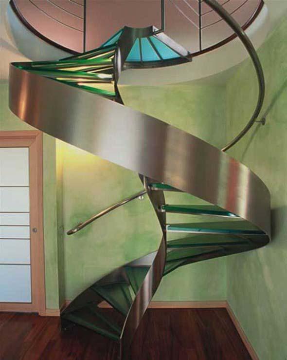 Modelos de escadas diferentes 011