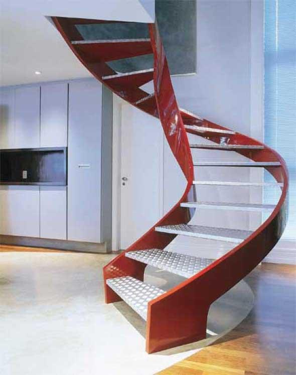 Modelos de escadas diferentes 015