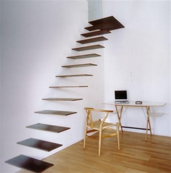Modelos de escadas diferentes 017