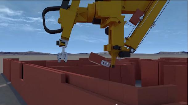 Robôs que conseguem assentar mil tijolos por hora3