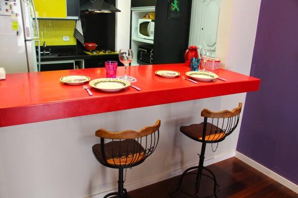 Bancadas em quartzo para cozinha 010