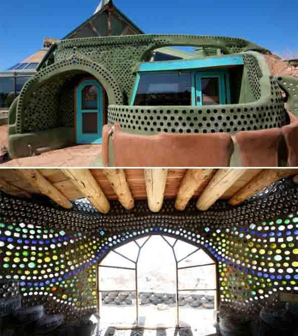 Casas construídas com objetos inusitados 012