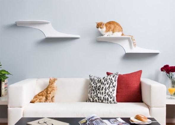 Móveis criativos para quem tem gatos 005