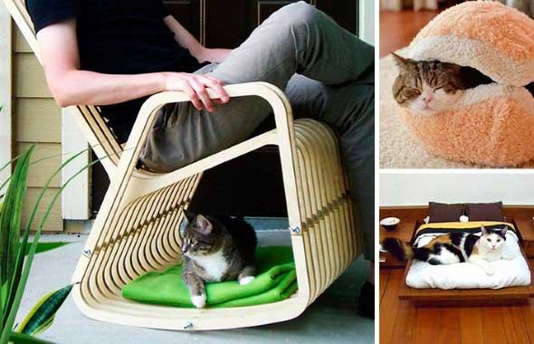 Móveis criativos para quem tem gatos 011