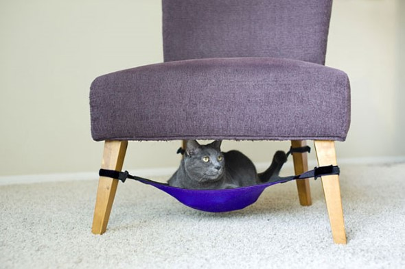 Móveis criativos para quem tem gatos 015