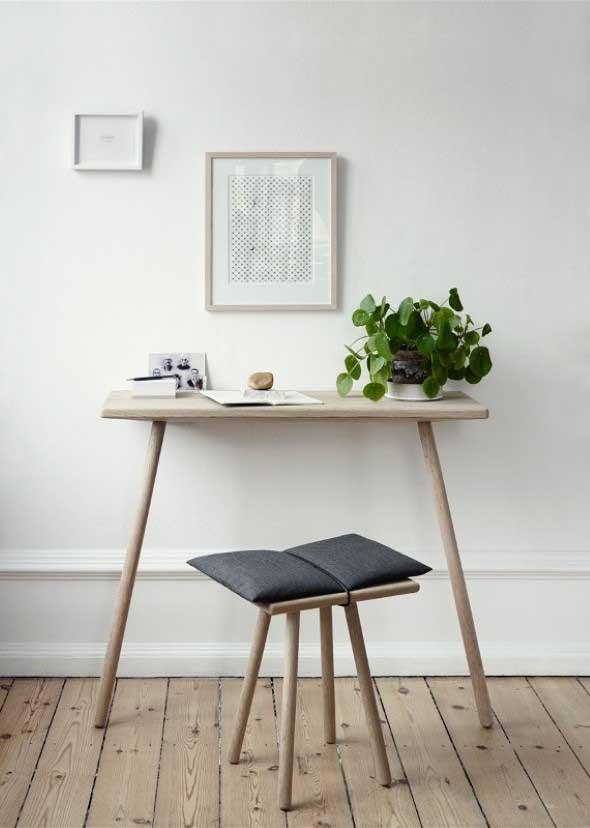 Mesas pequenas para espaços pequenos 001