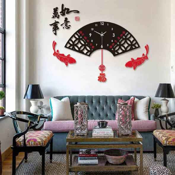 Relógios de parede modernos 016