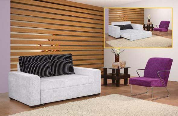Sofá cama em casa 004