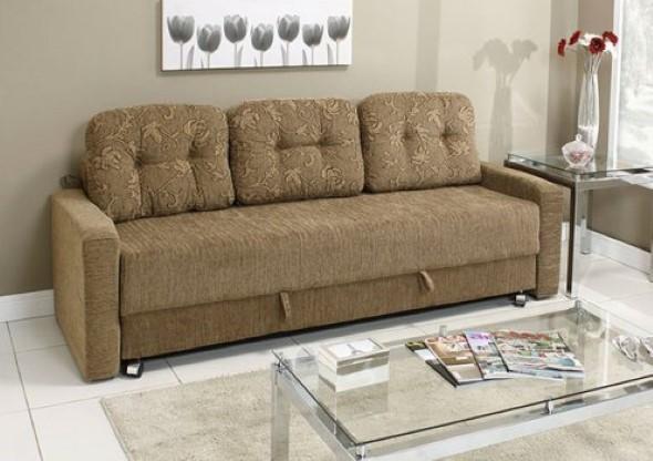 Sofá cama em casa 011