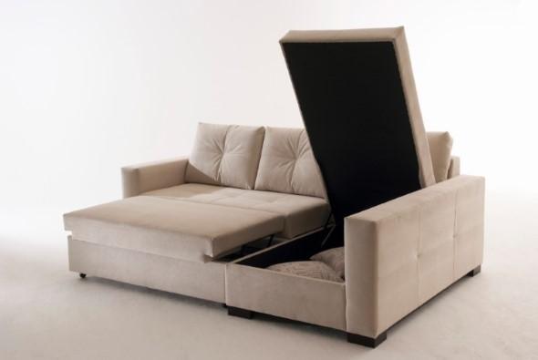 Sofá cama em casa 013