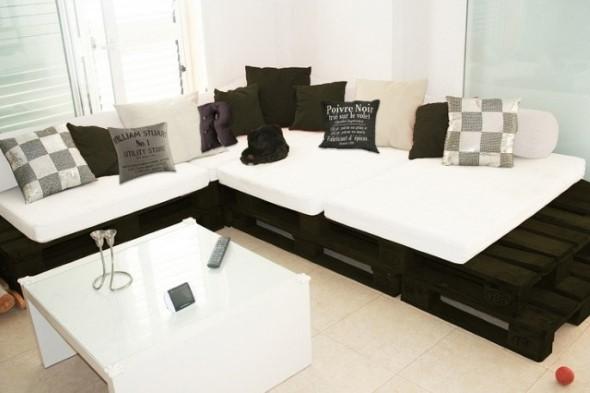 Sofá cama em casa 014