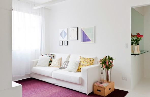 Truques para decorar um apartamento pequeno 003