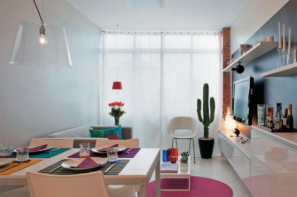 Truques para decorar um apartamento pequeno 012