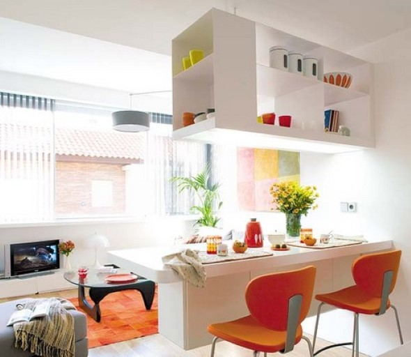 Truques para decorar um apartamento pequeno 015