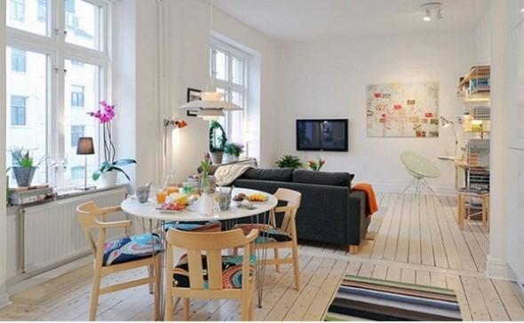 Truques para decorar um apartamento pequeno 016
