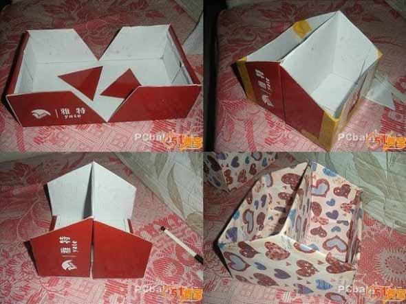 15 Ideias para reaproveitar caixas de sapato 003