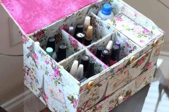 15 Ideias para reaproveitar caixas de sapato 013