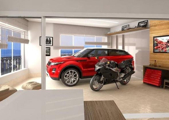 Hotel de Goiânia em breve terá elevador para colocar carros dentro do apartamento.